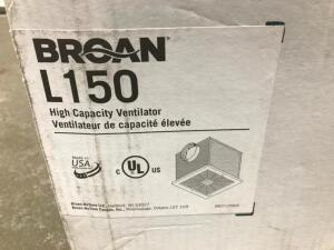 Broan L150 High Capacity Ventilator