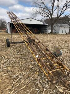 Bale Elevator with Transport, 20' long