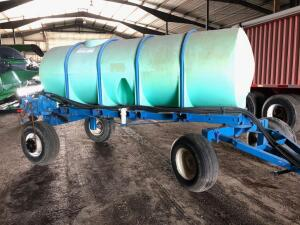1000 gallon Tanker Wagon, used for 28%, New John Blue Pump