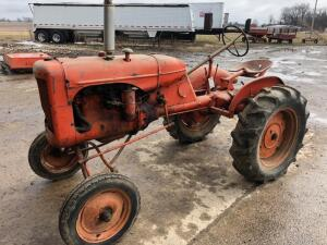 1939 Allis Chalmers B Tractor, S/N - 17731