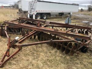 15' Wheel Disk, Needs cylinder, needs disks and bearings