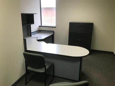 Office work Station, File Cabinet, Chairs