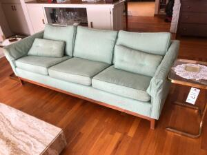 Mid Century Modern Couch and 2 end tables