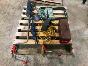 Pallet of Fishing Equipment
