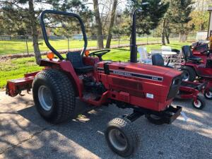 IHC 244 Diesel Tractor with Rototiller, Snowblower, & Woods Mower