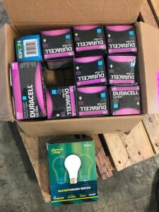 Box of Light Bulbs