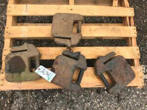 (4) Tractor Weights