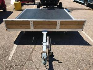 8' x 10' Flatbed Trailer