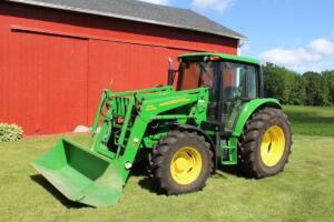 Like new 2009 John Deere 6430 with 563 loader 247 hours