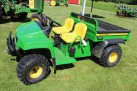 2012 John Deere TS 4X2 gator with electric dump box and 711 hours