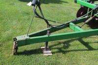 7 Tooth John deere disk chisel plow 60 acres on new disks - 3