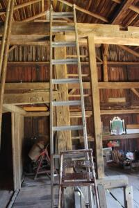 Werner extension ladder and step ladder