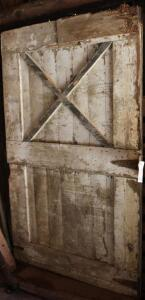 "Vintage barn door 75"" Tall X 47"" wide"
