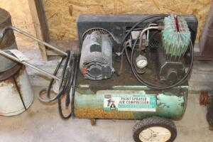 Sears paint sprayer air compressor