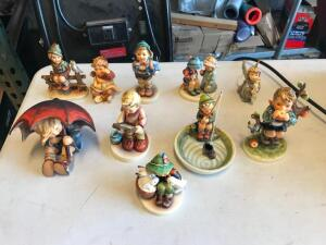 Box of Hummel Figurines