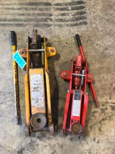 (2) Hydraulic Floor Jacks