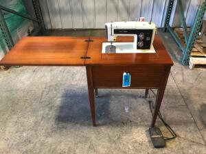 Sears Kenmore Sewing Machine with Foldout Table