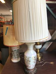 (3) Decorative Lamps