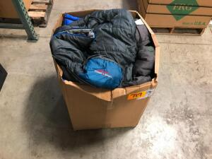 Box of Sleeping Bags