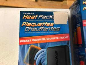 (2) Heat Packs (Rechargeable)