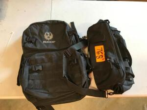 Backpack and Bag