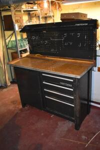 Craftsman Work Bench with Drawers