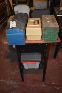 Tool Boxes, Table and More