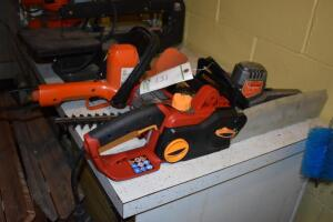 Electric Chainsaw and Electric Hedge Trimmers