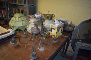 Light Fixtures and Oil Lamps