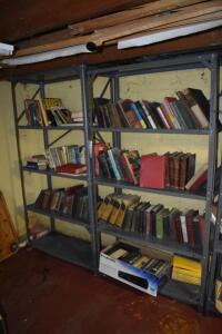 Shelving Units with Books- Must Take All
