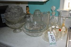 Vases, Bowls, Salt and Pepper Shakers and More