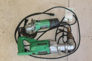 Hitachi Angle Drill and Grinder