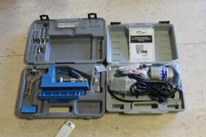 Kreg Pocket Hole Jig and Eurotool Flexible Shaft Machine