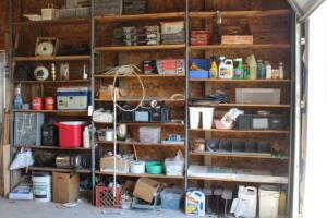 (3) Shelving Units with Contents- Very Large Lot, Must Take Everything