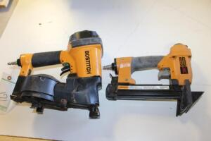 Bostitch Coil Nailer and Bostitch Floor Runner