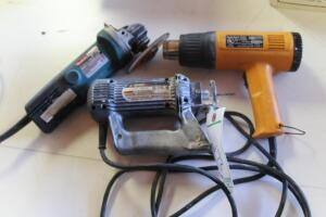 Makita Grinder, Roto Zip and Heat Gun