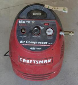 Craftsman 150 PSI Air Compressor