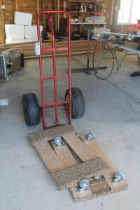 (2) Furniture Movers and Dolly Cart