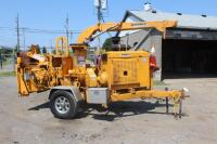 Bandit model 250XP chipper with cat diesel runs and operates properly