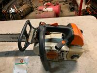"Stihl MS201TC chainsaw with 14"" bar - 3"
