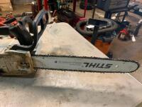 "Stihl MS201TC chainsaw with 14"" bar - 5"