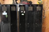 Steel lockers no contents - 2