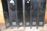 Steel lockers no contents - 3