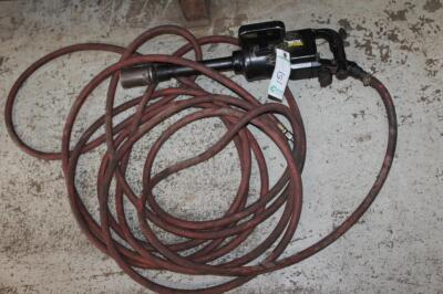 "1"" Impact gun with hose"
