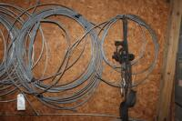 Tree cabling equipment and parts on the wall - 2