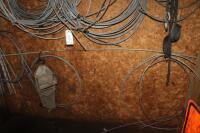 Tree cabling equipment and parts on the wall - 3