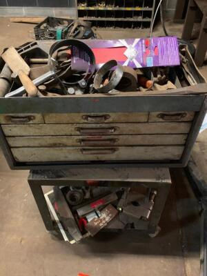 Toolbox cart and contents