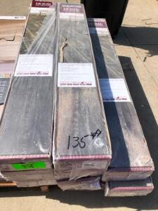 Approx. 135 SQ FT Crestwood Gray Oak Laminate Flooring