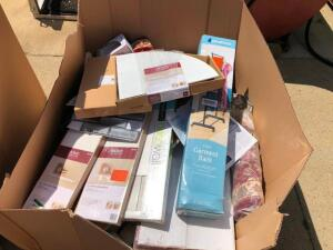 Large Box of Home Depot Items