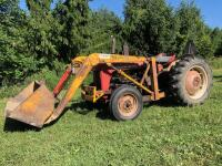 Ferguson TO35 Deluxe Tractor with Freeman Loader, 6,584 hours, S/N - SGM 189072